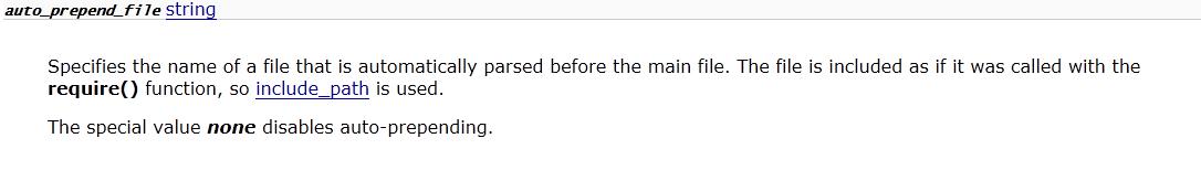 记user.ini文件构成的PHP后门