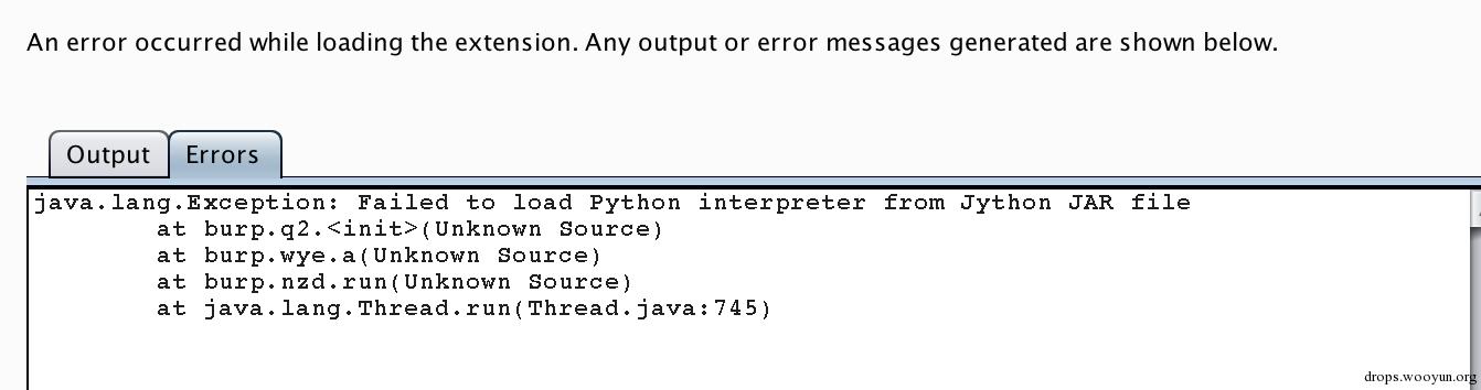 burpsuite扩展开发之Python - 路人甲
