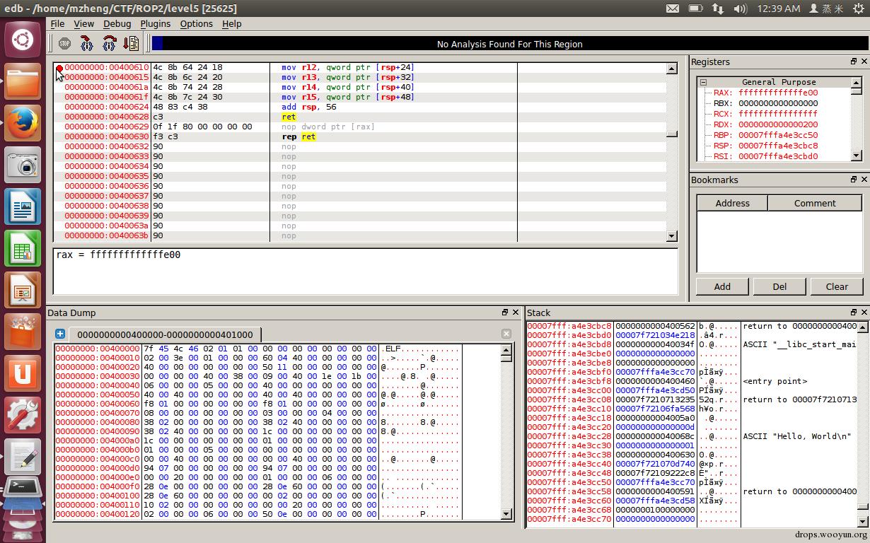 一步一步学ROP之linux_x64篇- 蒸米