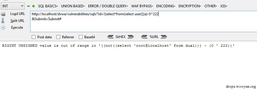 基于BIGINT溢出错误的SQL注入- mssp299